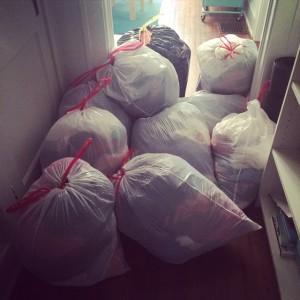 discard clothes